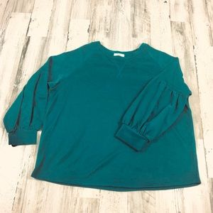 Cherish green sweater size large